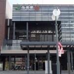 弘前駅前からバスで弘前城近辺まで移動