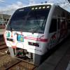 JR松山駅から宇和島駅へアンパンマン列車で移動