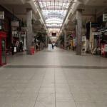 大街道から歩いて松山市駅へ