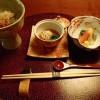 強羅 天翠の夕食