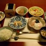 強羅 天翠の朝食