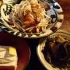 ゆうなんぎい、沖縄料理の夕食
