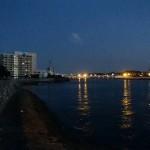 那覇港周辺、三重城周辺を夕方と朝に散歩