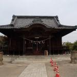 諏訪神社へ立ち寄り