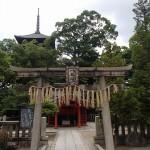 東寺 夜叉神堂、潅頂院、八幡社殿、修行大師