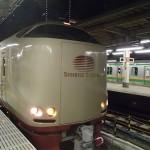 サンライズ出雲、東京駅9番ホームから出発
