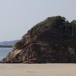 出雲神社から稲佐の浜、弁天島へ