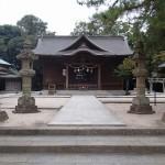 松江城 亀田橋側から上る、松江神社など