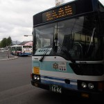 JR松江駅から八重垣神社へバスで移動