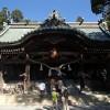 筑波山神社入口から筑波山神社へ
