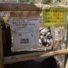 筑波山、通行止めの自由研究路