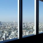 東京ソラマチ イーストタワーからスカイツリーを見る