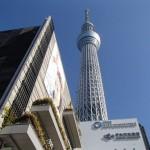 東京スカイツリー 一人旅