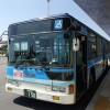 新石垣空港からバスで石垣島市街地へ