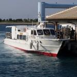 石垣島から波照間島へ船で移動