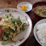 公園茶屋 川平湾周辺で昼食