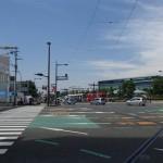 長崎市内からグラバー園周辺へ移動