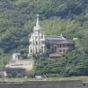 軍艦島ツアーの道中、各地の教会、伊王島、高島