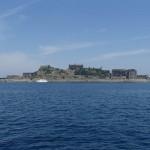 軍艦島ツアー、軍艦島へ接岸