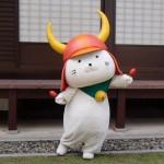 ひこにゃん、彦根城にて