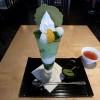 伊藤久右衛門本店で抹茶そば、抹茶パフェを食す