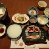 白骨温泉 湯本齋藤旅館の朝食