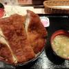 ソースかつ丼 明治亭で駒ケ根ソースかつ丼を食す