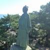 桂浜、坂本龍馬像