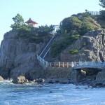 桂浜周辺散策、海津見神社、早高神社