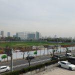 新国立競技場の建設地を見学、新宿御苑再入園など