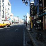 飯能駅から天覧山麓まで歩いて移動