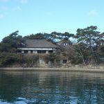 遊覧船に乗り込み、松島周遊スタート