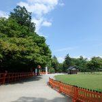 上賀茂神社の敷地内の散策