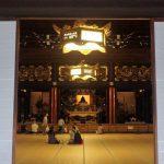 東本願寺の晨朝、朝のおつとめ