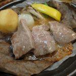 水明館 佳留萱山荘の夕食