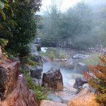水明館 佳留萱山荘の温泉、露天風呂、貸切風呂