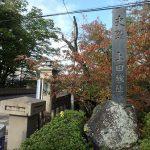 上田城の櫓などの外観や真田石など周囲の様子