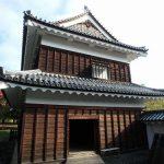 上田城の北櫓、南櫓内を見学