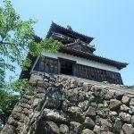 丸岡城の天守周辺を散策