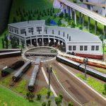 京都鉄道博物館、鉄道ジオラマ