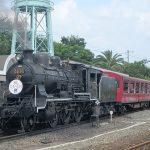 京都鉄道博物館、SLスチーム号でSL機関車に乗車可能