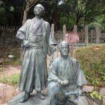 坂本龍馬、中岡慎太郎の墓、京都霊山護国神社、そして霊山歴史館