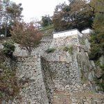 備中松山城 二重櫓、現存する塀など