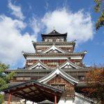広島城、天守と歴史博物館