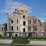 原爆ドームと広島平和記念公園