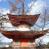 厳島神社周辺観光、多宝塔、厳島神社 宝物館