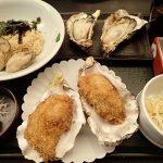 牡蠣屋、宮島で牡蠣を食す