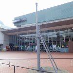 大和ミュージアム、戦艦大和を作った地の歴史科学館の周囲は戦艦「陸奥」