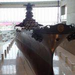 大和ミュージアムへ入港、戦艦大和が待ち受ける