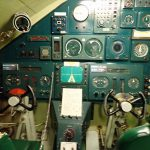 てつのくじら館で本物の潜水艦「あきしお」に進水